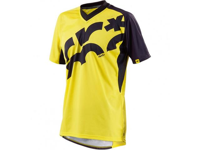 Mavic Jersey Ls Crossmax Mavic-Yellow/Black SM