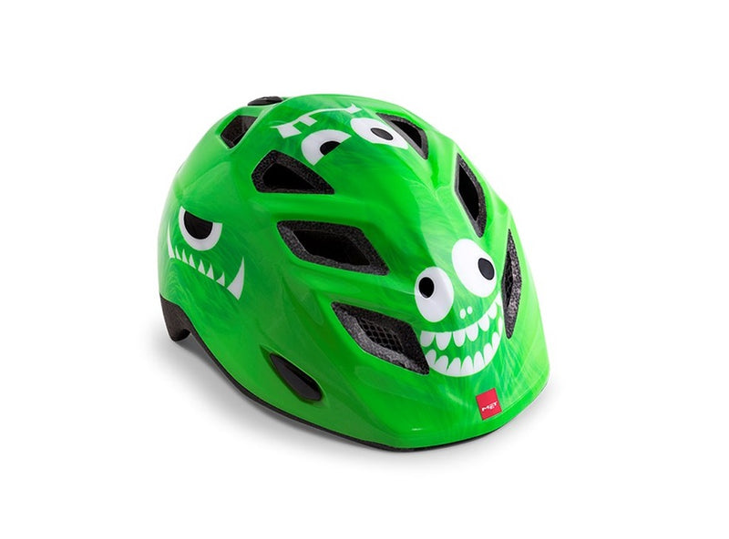 Met Elfo Child Helmet Green Monsters