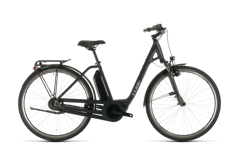 Cube Town One 400 Electric Hybrid Bike Iridium'n'Black (2020)