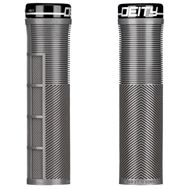 Deity Knuckleduster Lock-On Grips Stealth