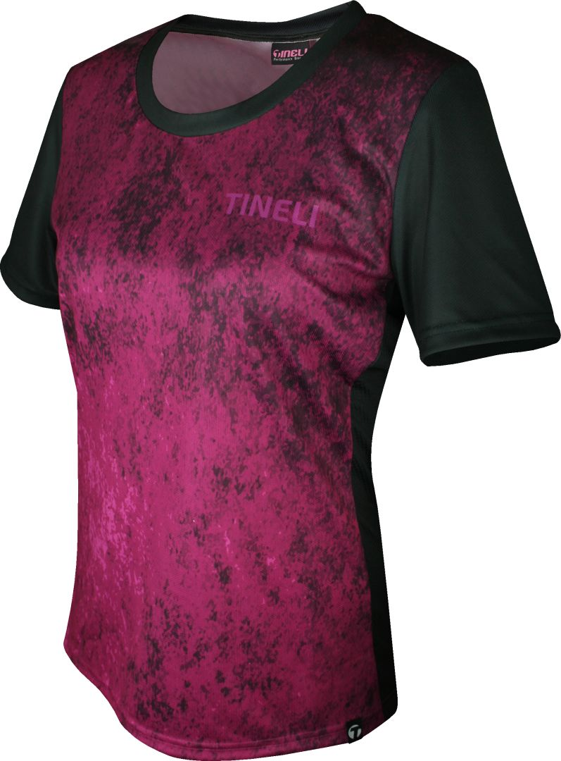 Tineli Women's Jersey MTB Eroded Purple