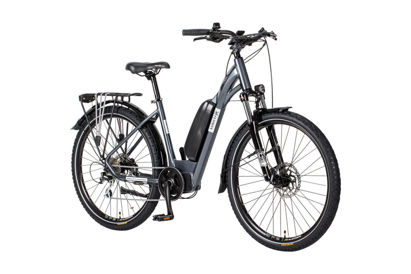 Velectrix Urban X Step Through Electric Hybrid Bike Anthracite/Grey (2020)