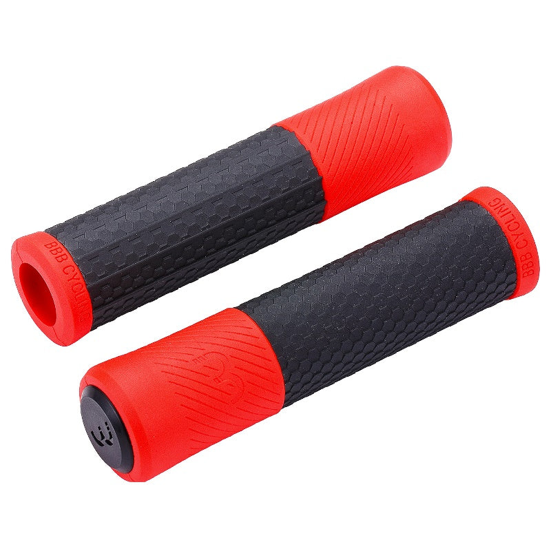 BBB Viper Grips 130mm Black and Red