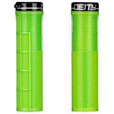 Deity Knuckleduster Lock-On Grips Green