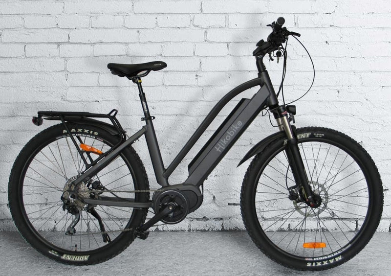 Hiko Rangler 17.4AH Battery Electric Hybrid Bike Gunmetal (2020)