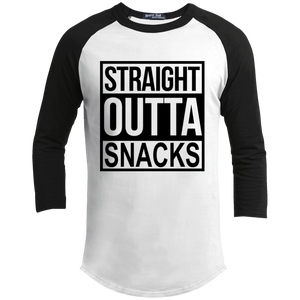 straight outta snacks Youth Sporty T-Shirt