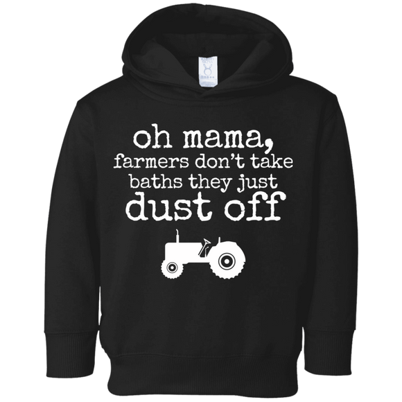 farmers just dust off Toddler Fleece Hoodie