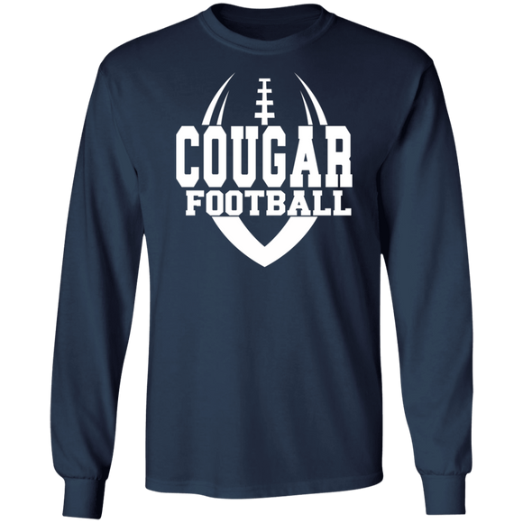 Cougar Football Long Sleeve Ultra Cotton T-Shirt