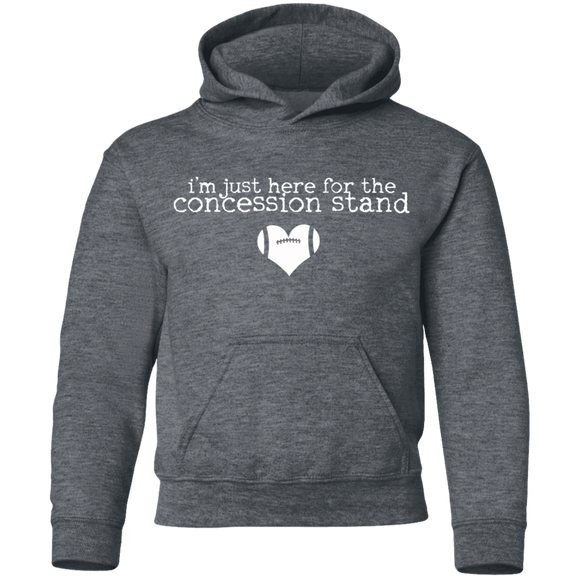 concession stand football Youth Pullover Hoodie