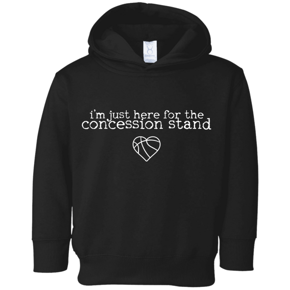concession stand basketball Toddler Fleece Hoodie