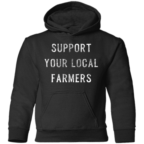 Support Farmers Toddler Pullover Hoodie