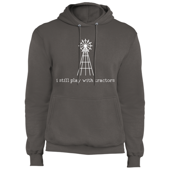 i still play with tractors hoodie