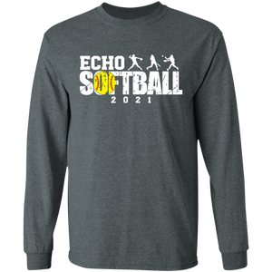 Echo Softball 2021 Long Sleeve Ultra Cotton T-Shirt