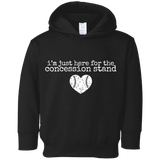 I'm here for the concession stand baseball Toddler Fleece Hoodie