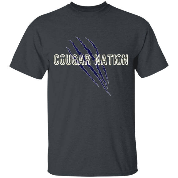 cougar nation Youth 100% Cotton T-Shirt