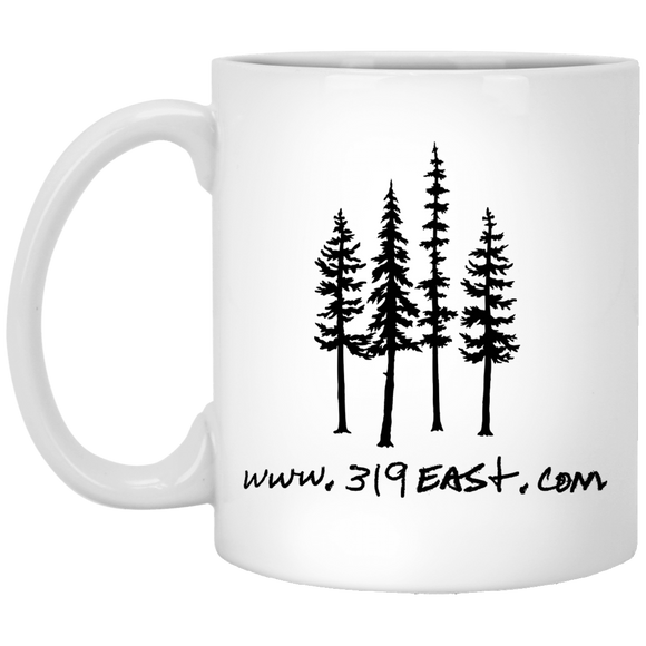 319 tree logo mugs