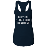 Support Ranchers Ladies Ideal Racerback Tank