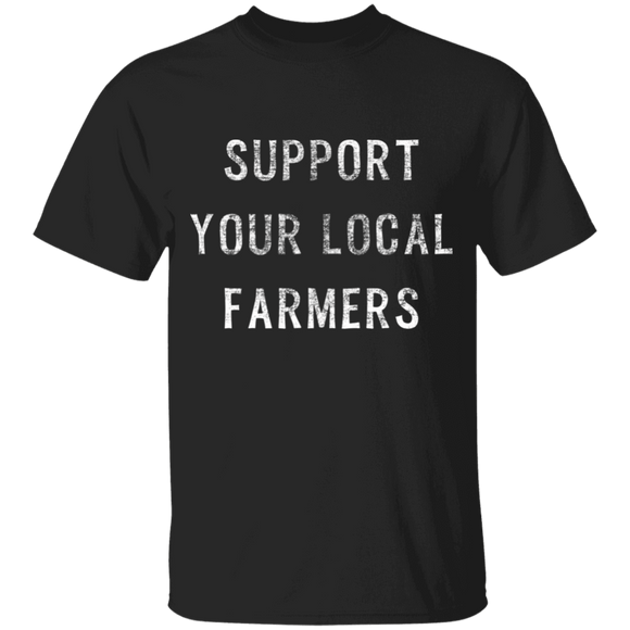 Support Farmers Youth 100% Cotton T-Shirt
