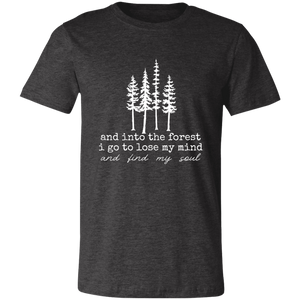 Into the Forest Unisex Jersey Short-Sleeve T-Shirt