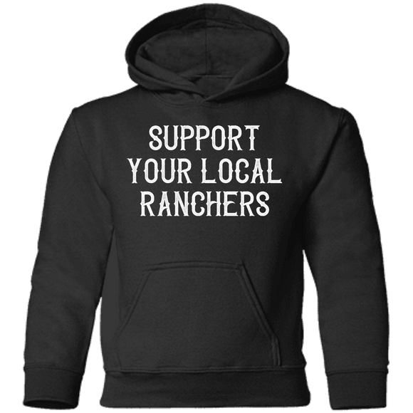 Support Ranchers Toddler Pullover Hoodie