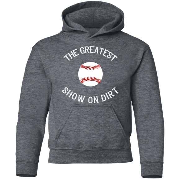 greatest show on dirt Youth Pullover Hoodie