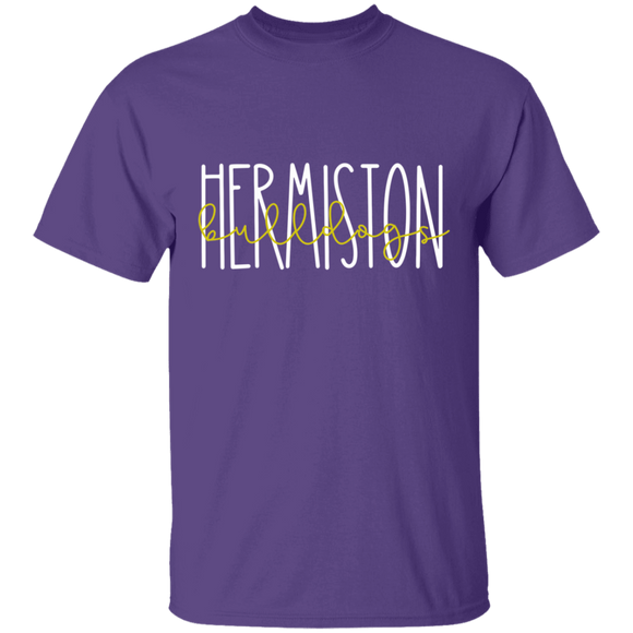 Hermiston Bulldogs Youth 5.3 oz 100% Cotton T-Shirt