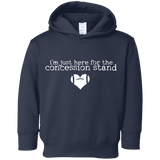 concession stand football Toddler Fleece Hoodie