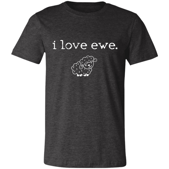 i love ewe Unisex Jersey Short-Sleeve T-Shirt