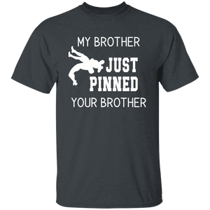 my brother pinned your brother Youth 100% Cotton T-Shirt