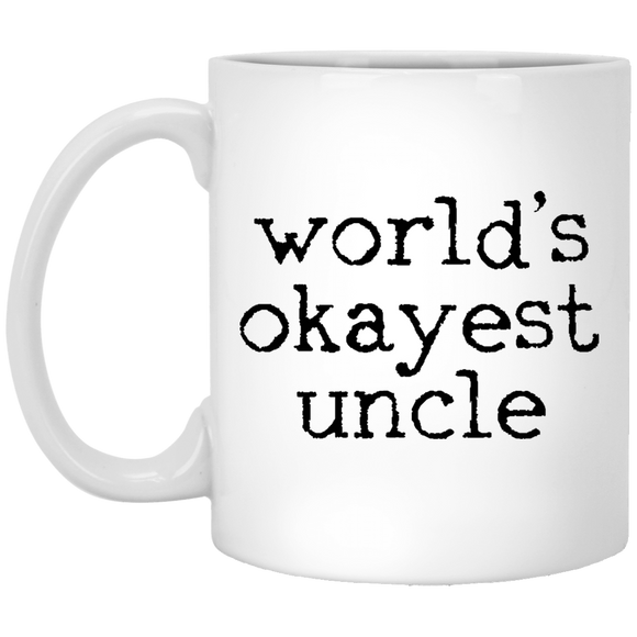 worlds okayest uncle Mugs