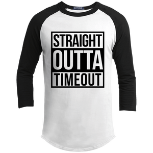 straight outta timeout Youth Sporty T-Shirt