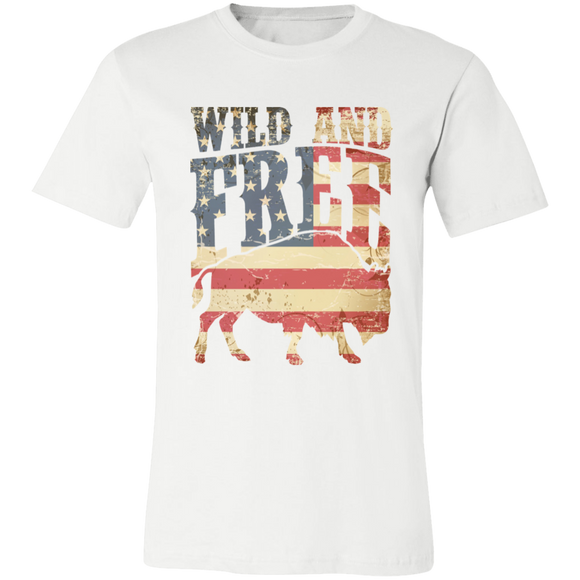 Wild and Free Unisex Jersey Short-Sleeve T-Shirt