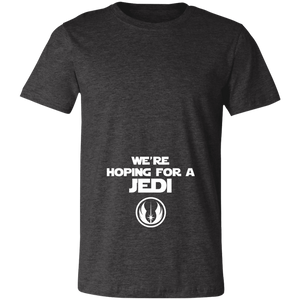 We're Hoping For a Jedi Unisex Jersey Short-Sleeve T-Shirt