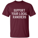 Support Ranchers Youth 100% Cotton T-Shirt