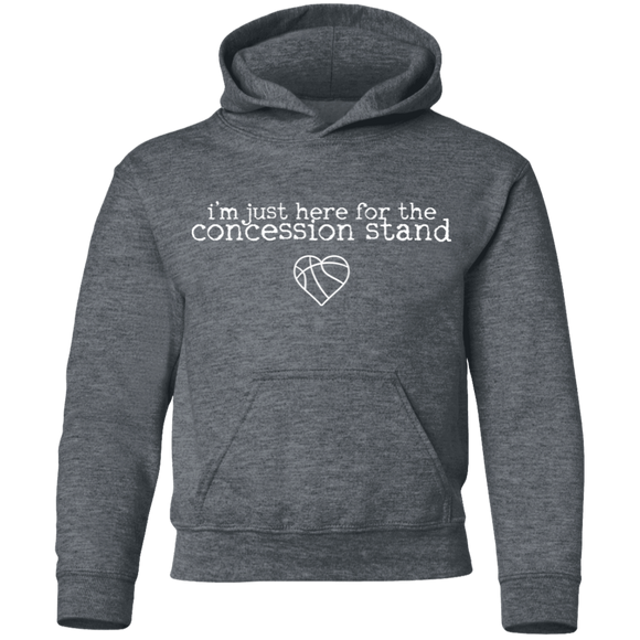 concession stand basketball Youth Pullover Hoodie