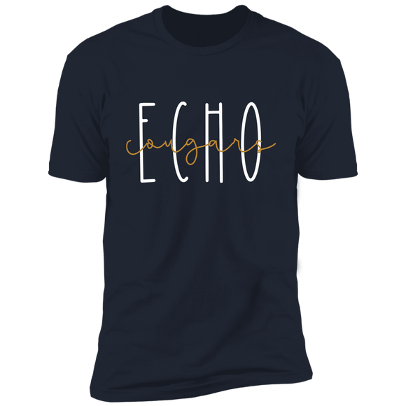 Echo Cougars Premium Short Sleeve T-Shirt