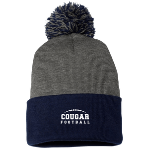 Cougar Football Pom Pom Knit Cap