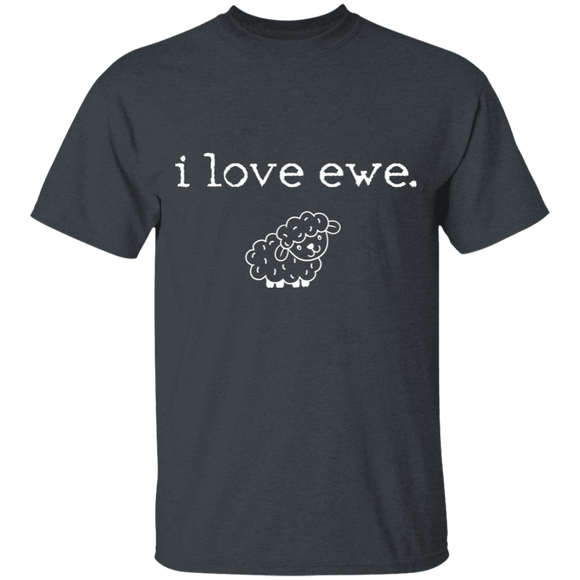 i love ewe Youth 100% Cotton T-Shirt