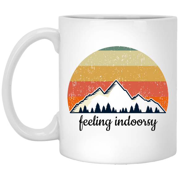 feeling indoorsy mugs