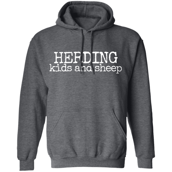 Herding Kids and Sheep Pullover Hoodie