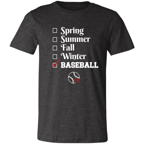 baseball season Unisex Jersey Short-Sleeve T-Shirt