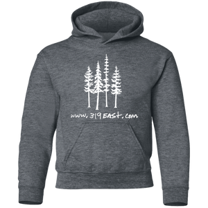 319 tree logo Youth Pullover Hoodie