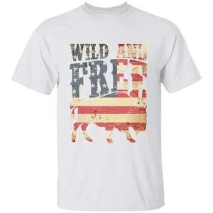 Wild and Free  Youth 100% Cotton T-Shirt