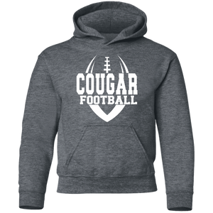 Cougar Football Youth Pullover Hoodie