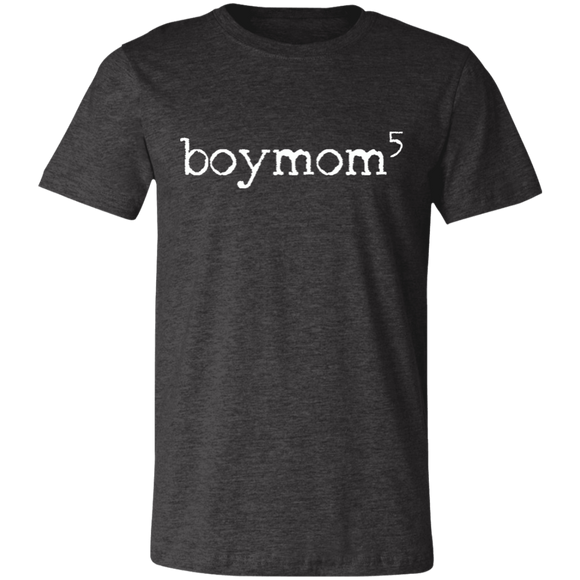 boymom of 5 Unisex Jersey Short-Sleeve T-Shirt