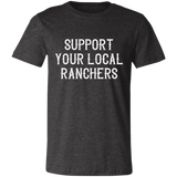 Support Ranchers Unisex Jersey Short-Sleeve T-Shirt
