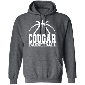 Cougar Basketball Pullover Hoodie