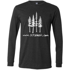 319 tree logo Men's Jersey LS T-Shirt