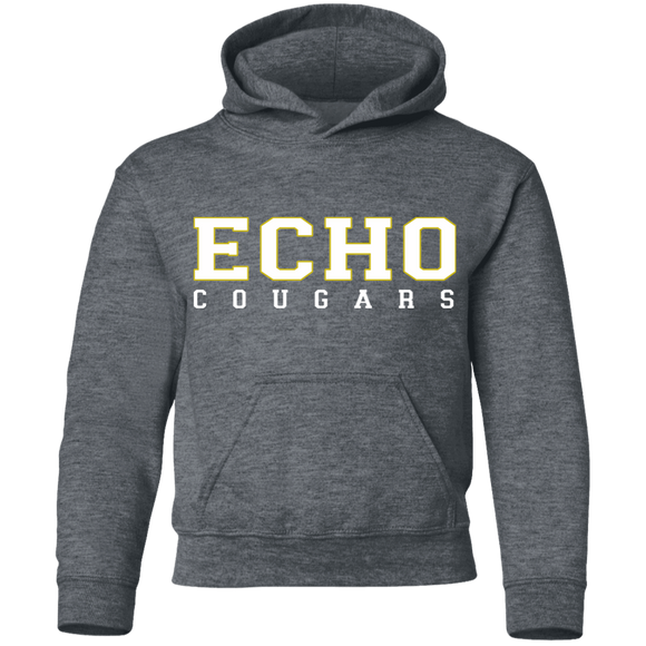 echo cougars Youth Pullover Hoodie