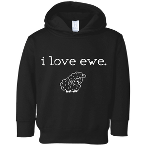 i love ewe Toddler Fleece Hoodie
